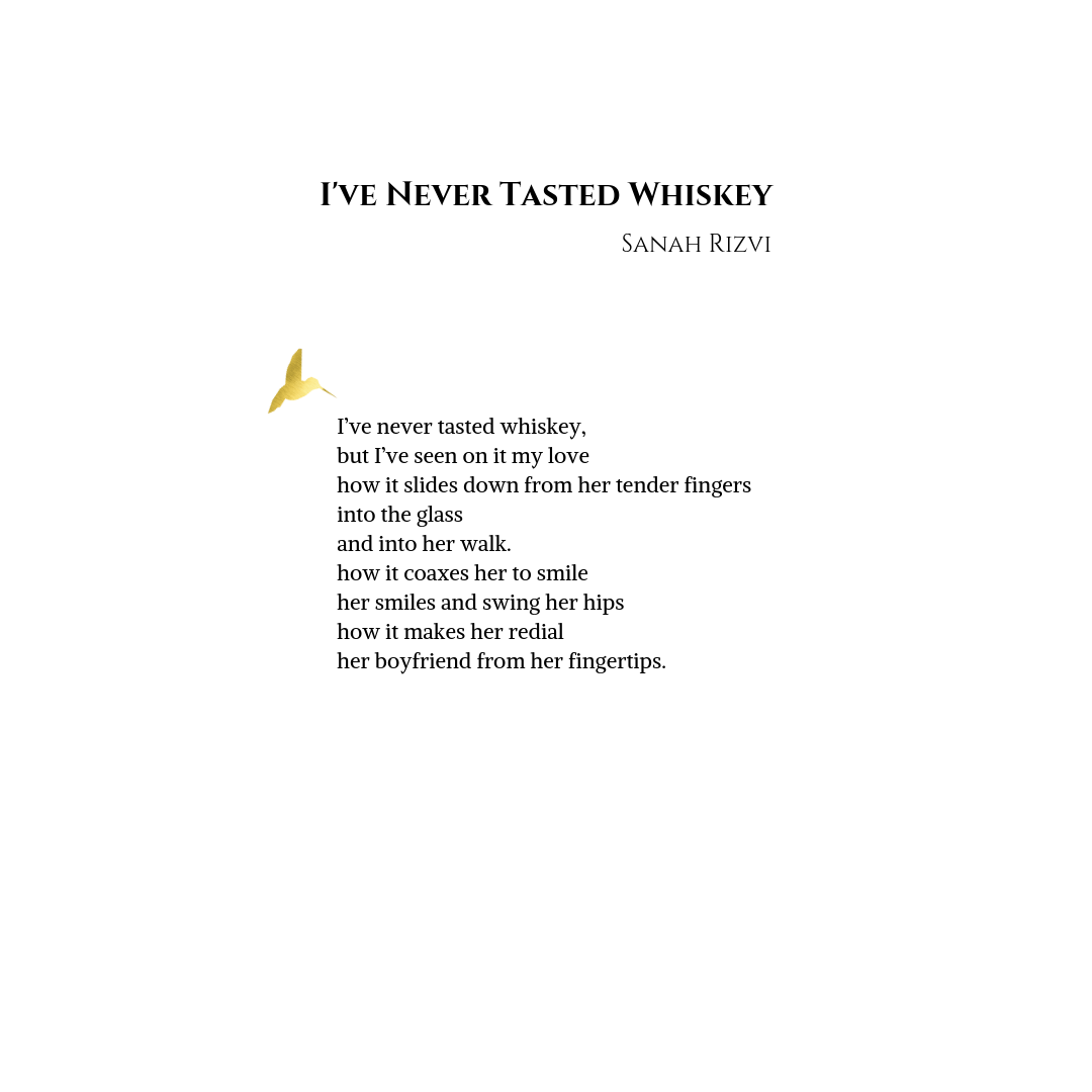 I've Never Tasted Whiskey